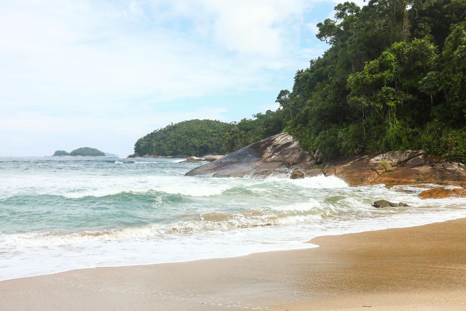 Praias sem aglomeração Litoral Norte de São Paulo