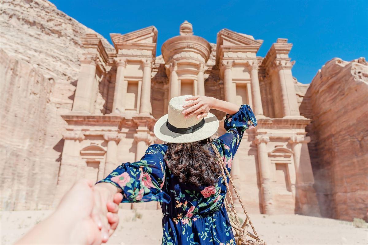 Petra, a principal atração da Jordânia