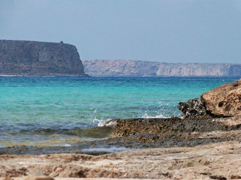 creta balos beach ilha grecia