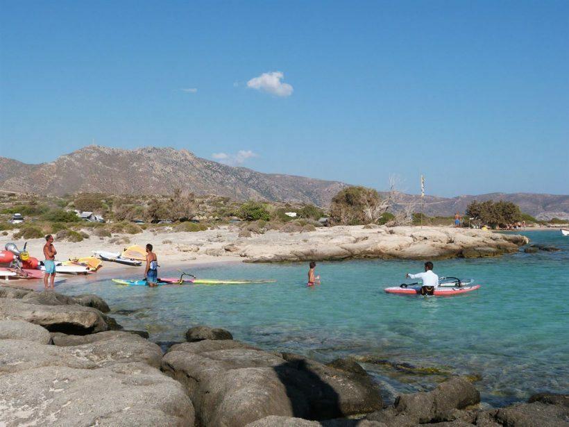 creta elafonissi beach ilha grega