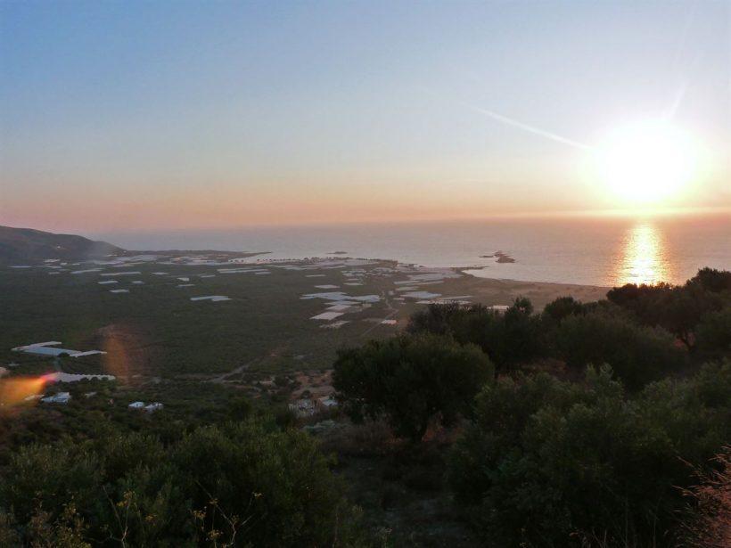 creta falassarna ilha grecia