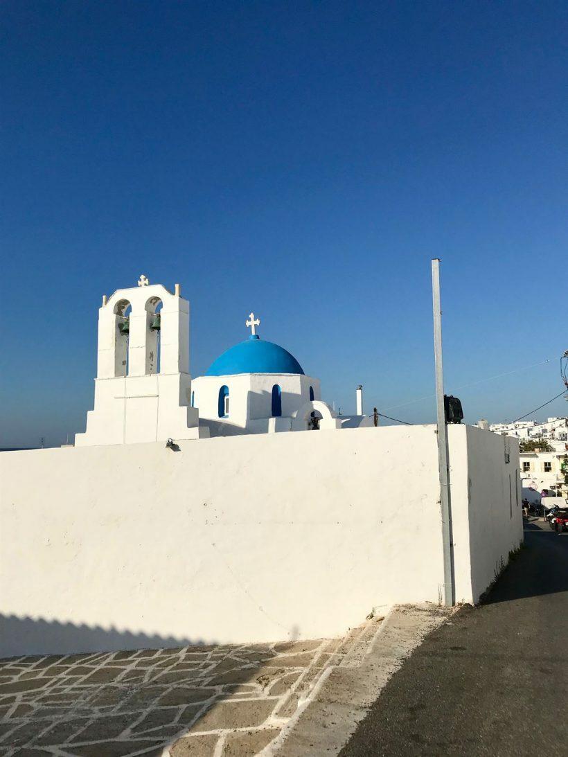 paros naoussa grecia