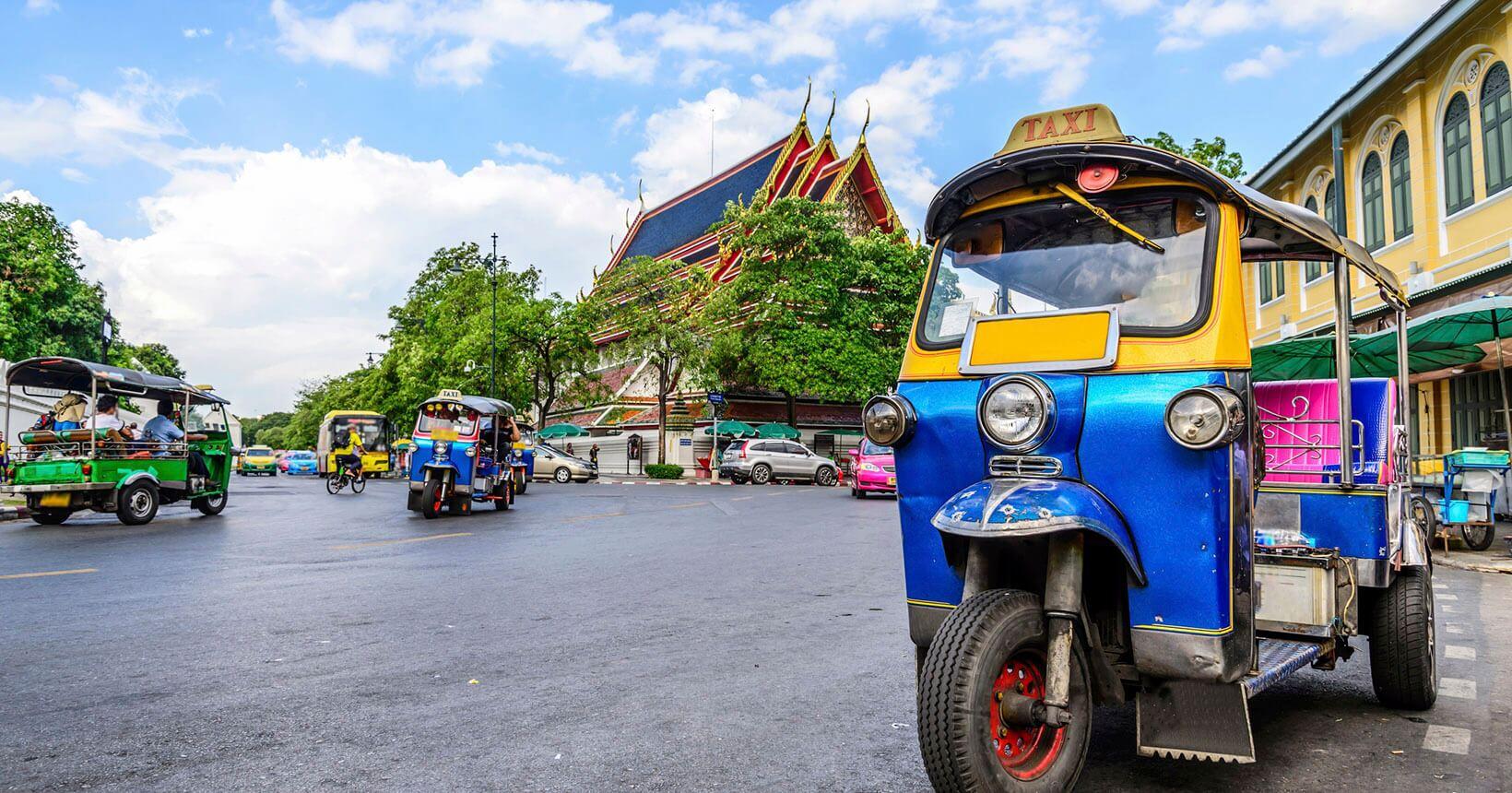Tuk Tuk na Tailândia