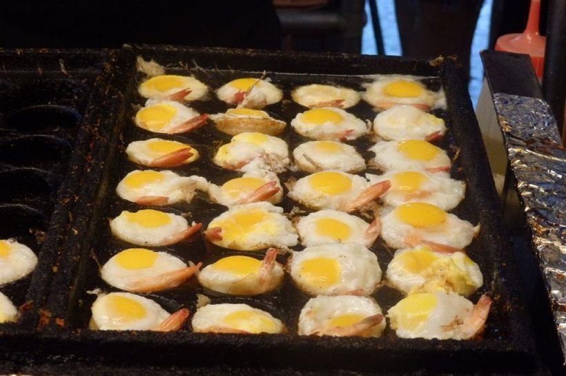 frutos do mar comida de rua taiwan
