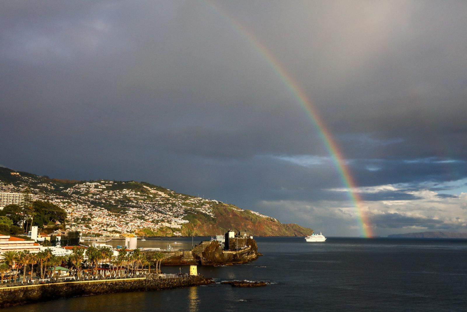 Final de tarde no Funchal Ilha da Madeira
