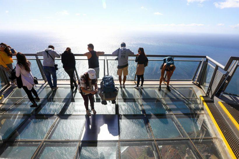 Miradouro do Cabo Girão na Ilha da Madeira