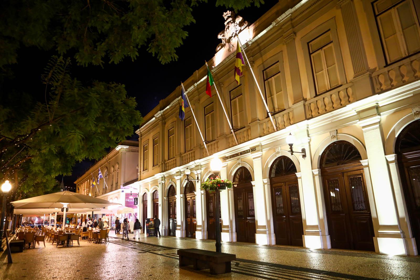 Teatro Municipal do Funchal Ilha da Madeira