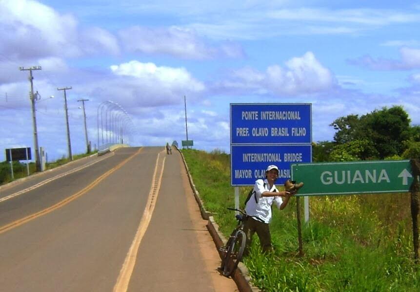 cicloturismo guiana