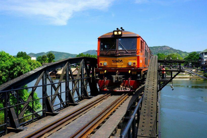 Ferrovia da Morte, Tailândia