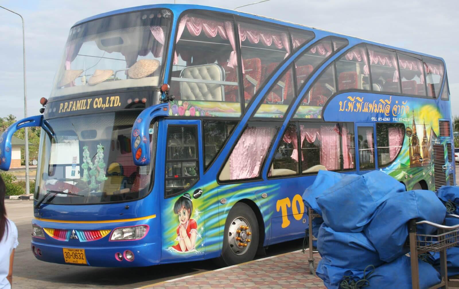 ônibus tailândia