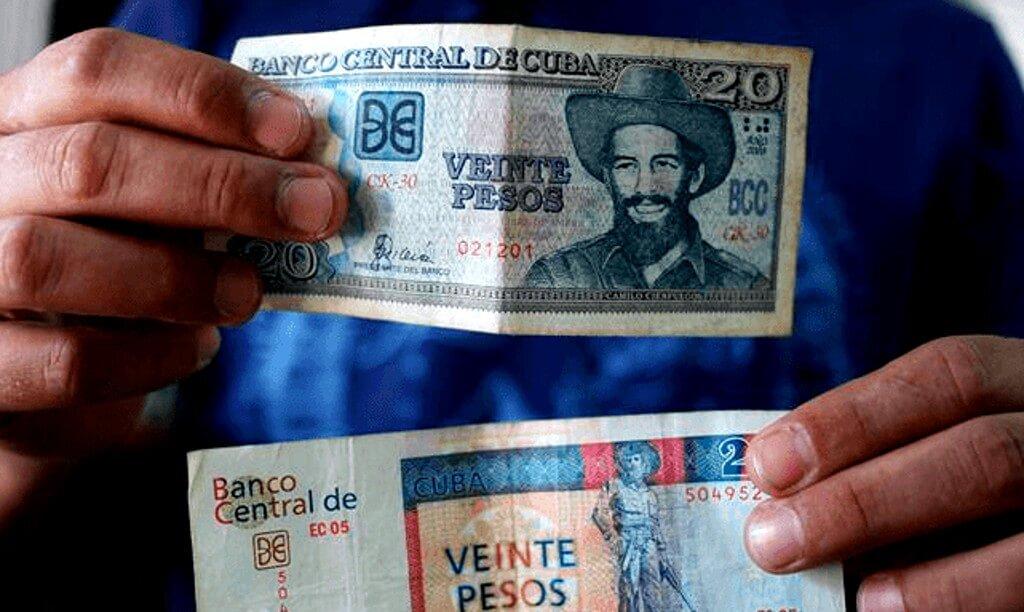 Peso cubano (CUP) y Peso cubano convertible (CUC)