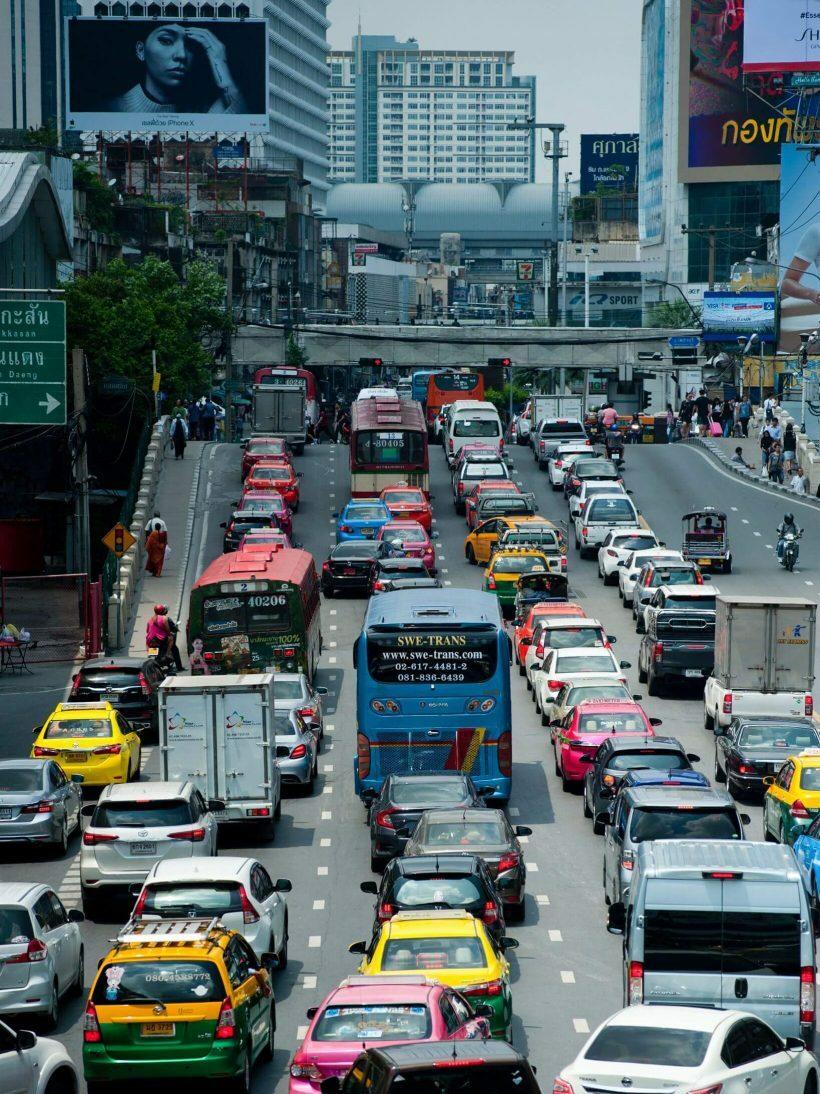 Trânsito em Bangkok