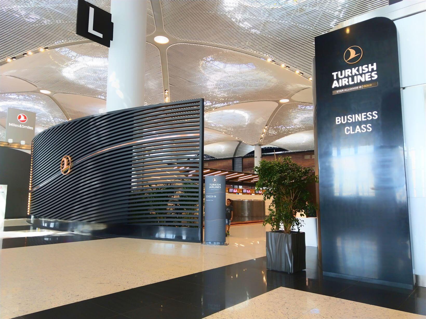 Lounge Business da Turkish Airlines