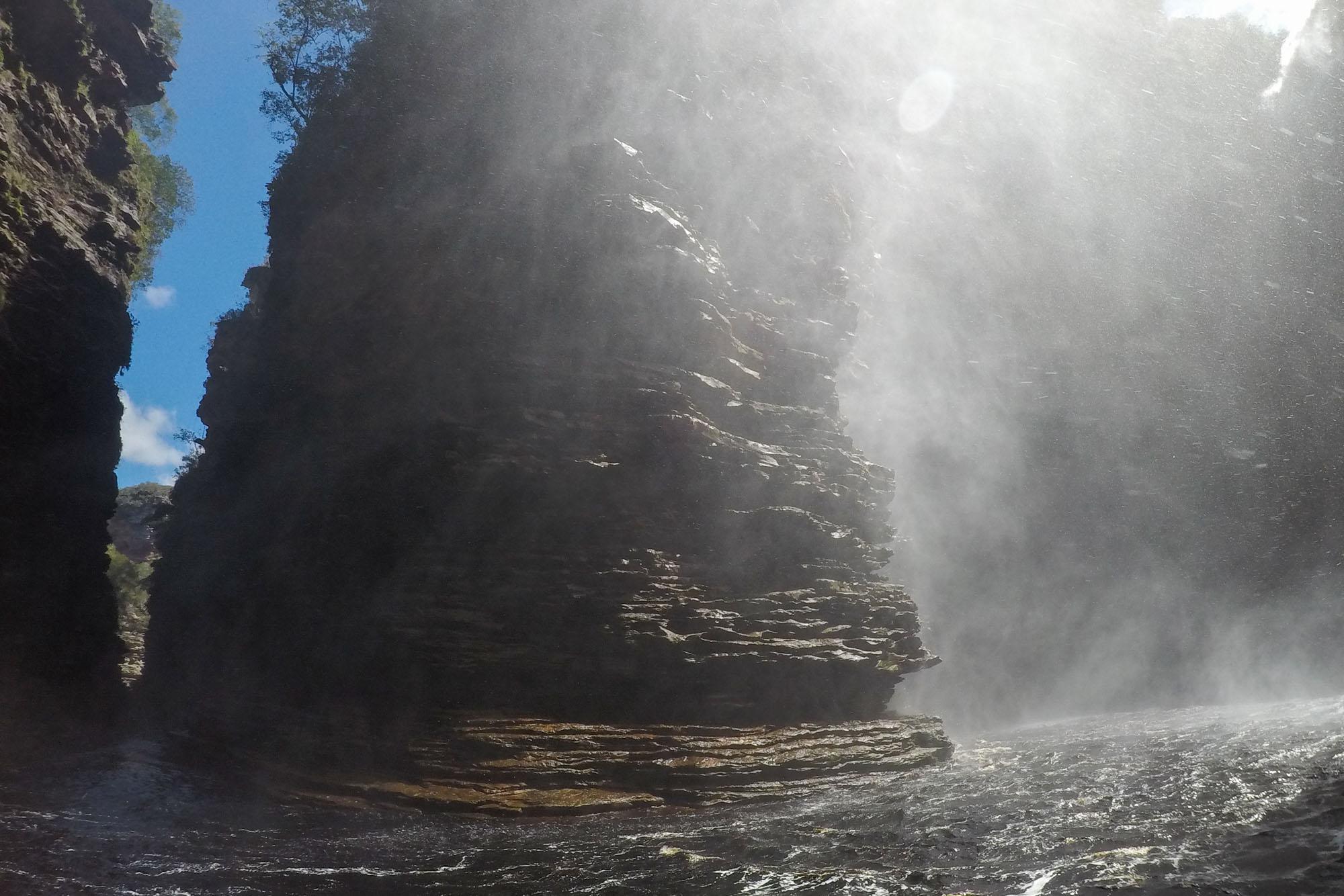 Cachoeira do Buracão na Chapada Diamantina