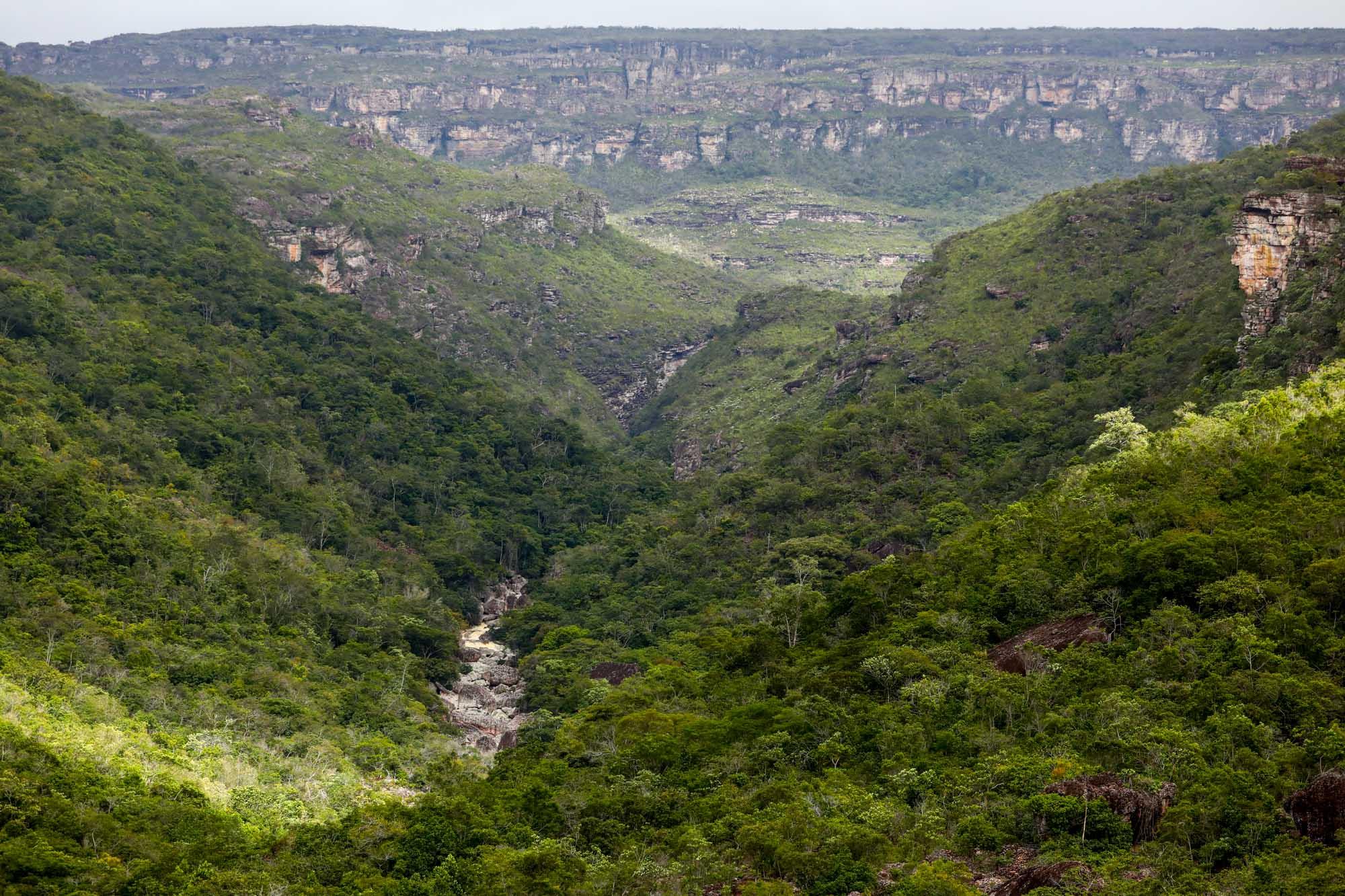 Trilha para a Cachoeira do Sossego na Chapada Diamantina