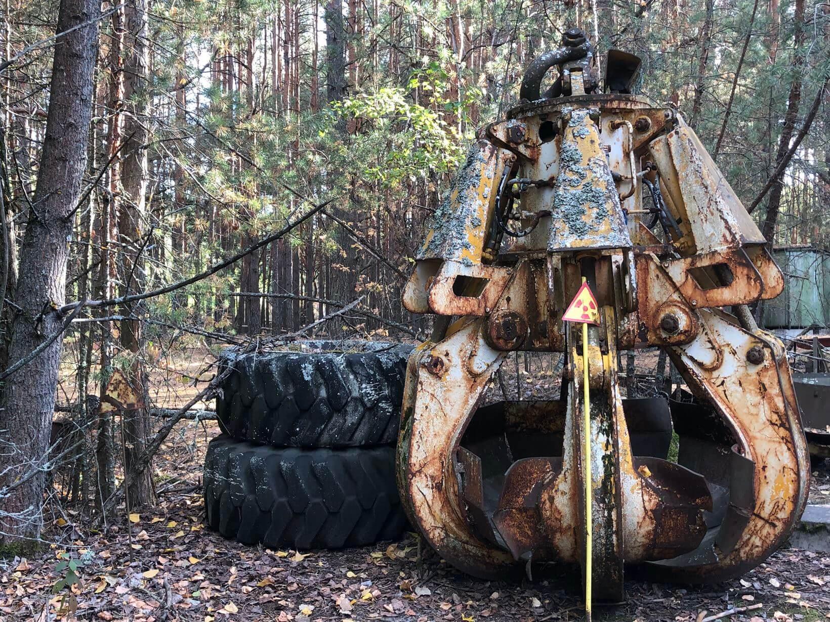 equipamentos chernobyl