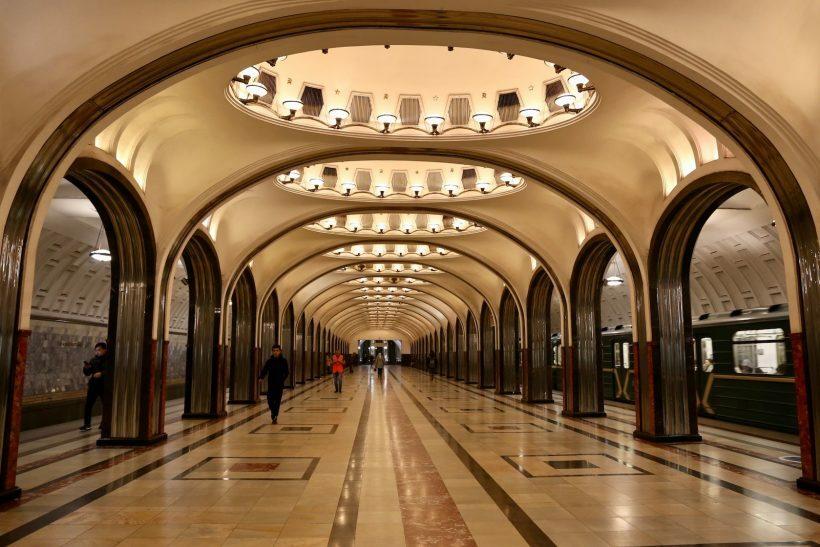 metro moscou russia