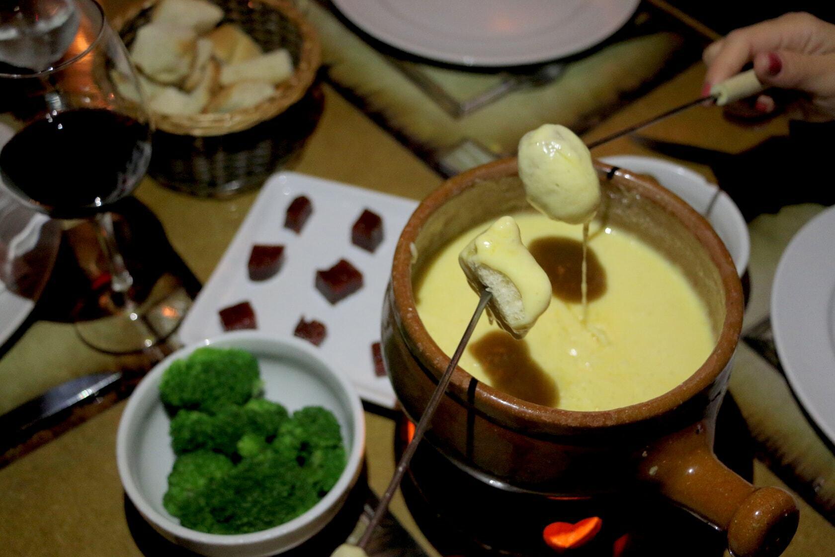 restaurante de fondue em gramado