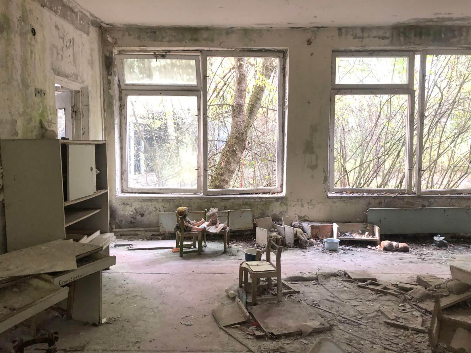 Jardim de infância chernobyl