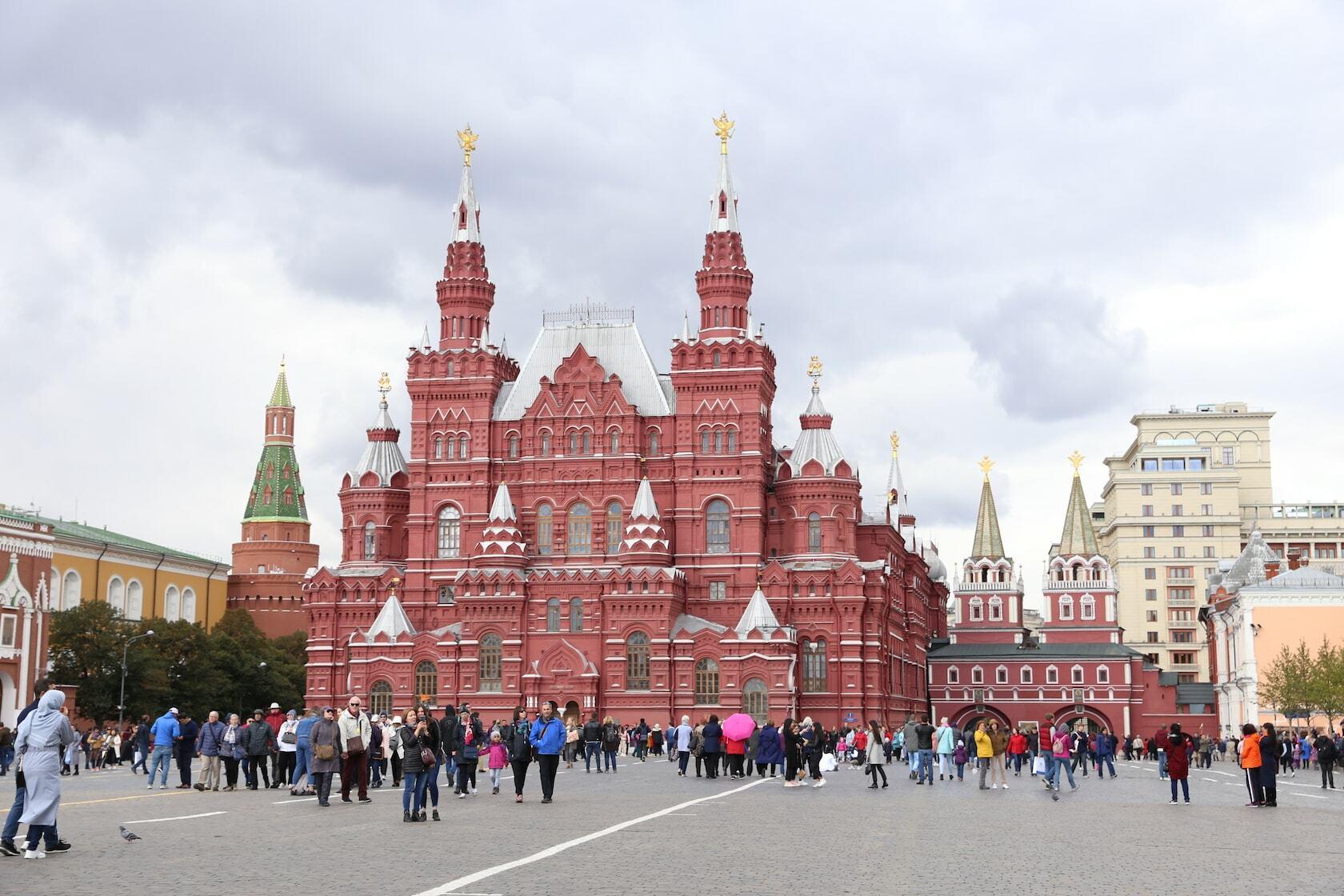 praça vermelha moscou russia dicas