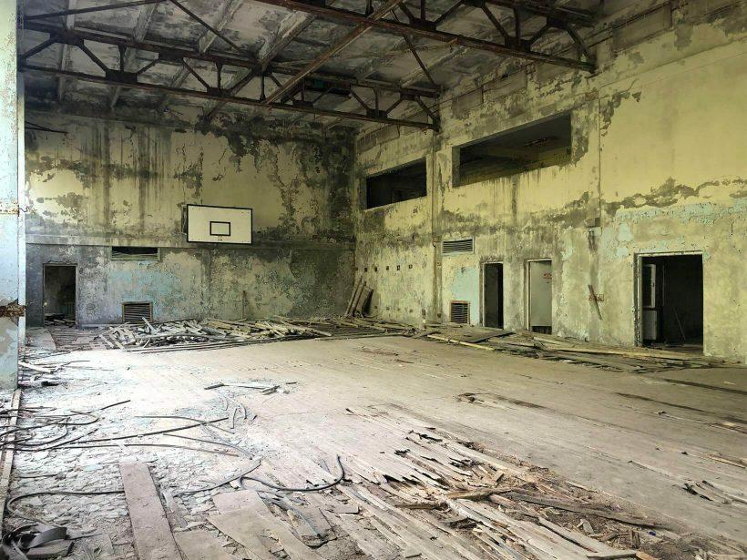 Lugares abandonados em Chernobyl