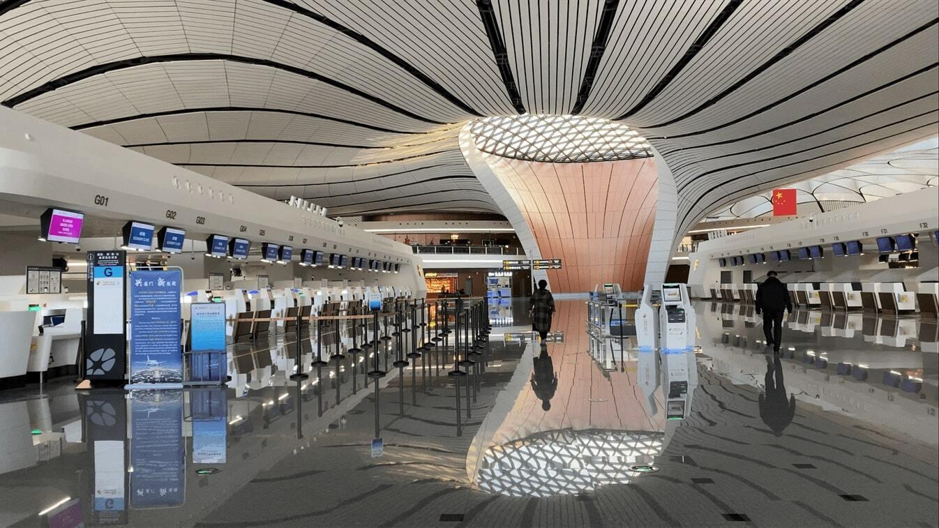 aeroporto internacional de pequim daxing