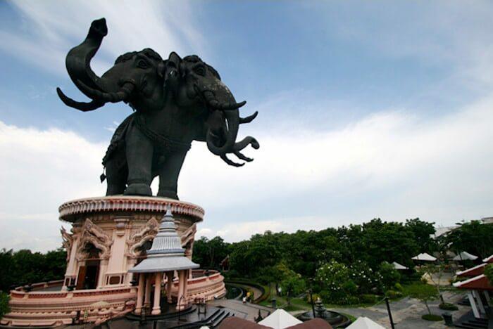 templo elefante tailandia