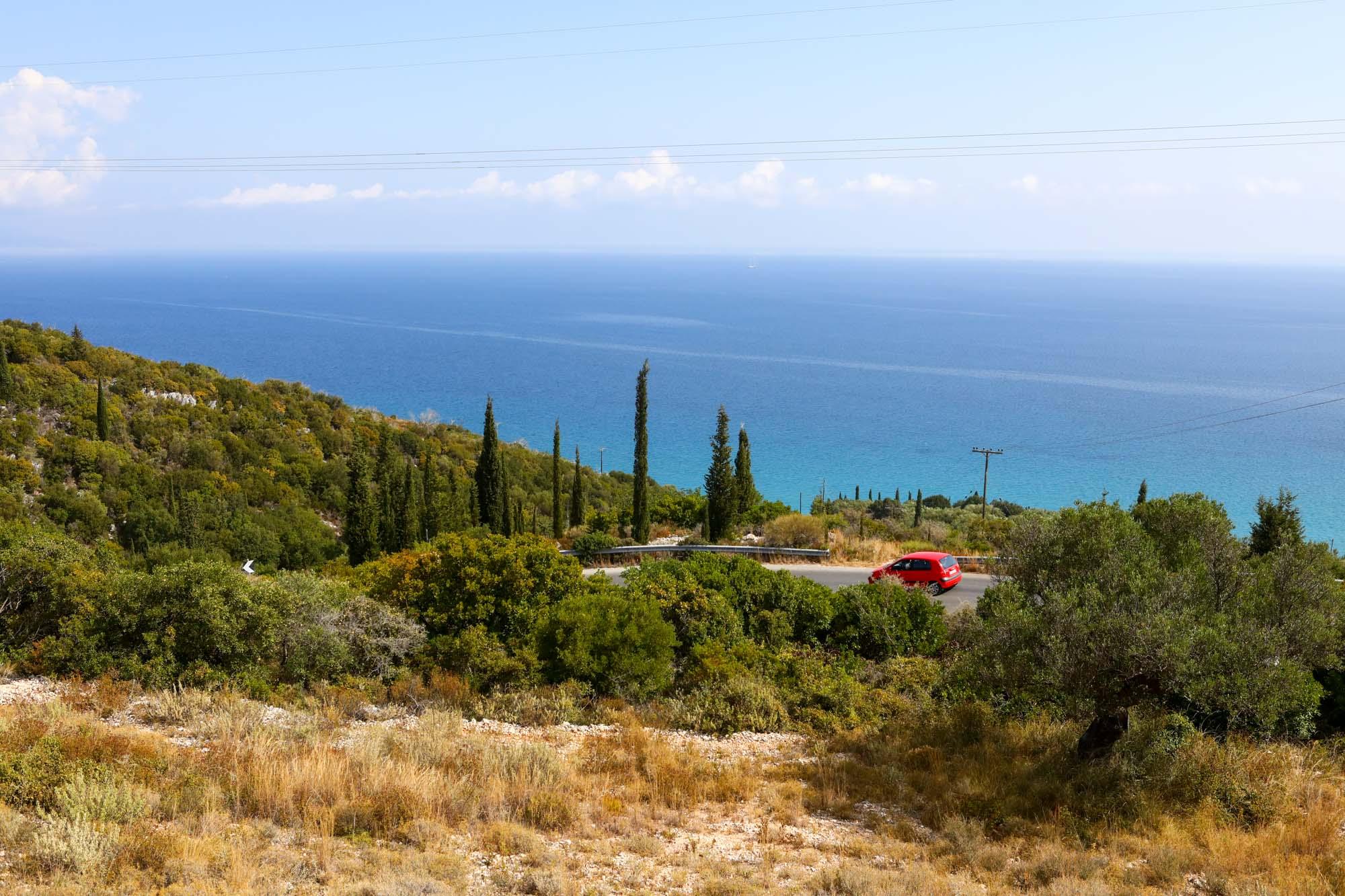 Estradas pela Ilha de Zakynthos