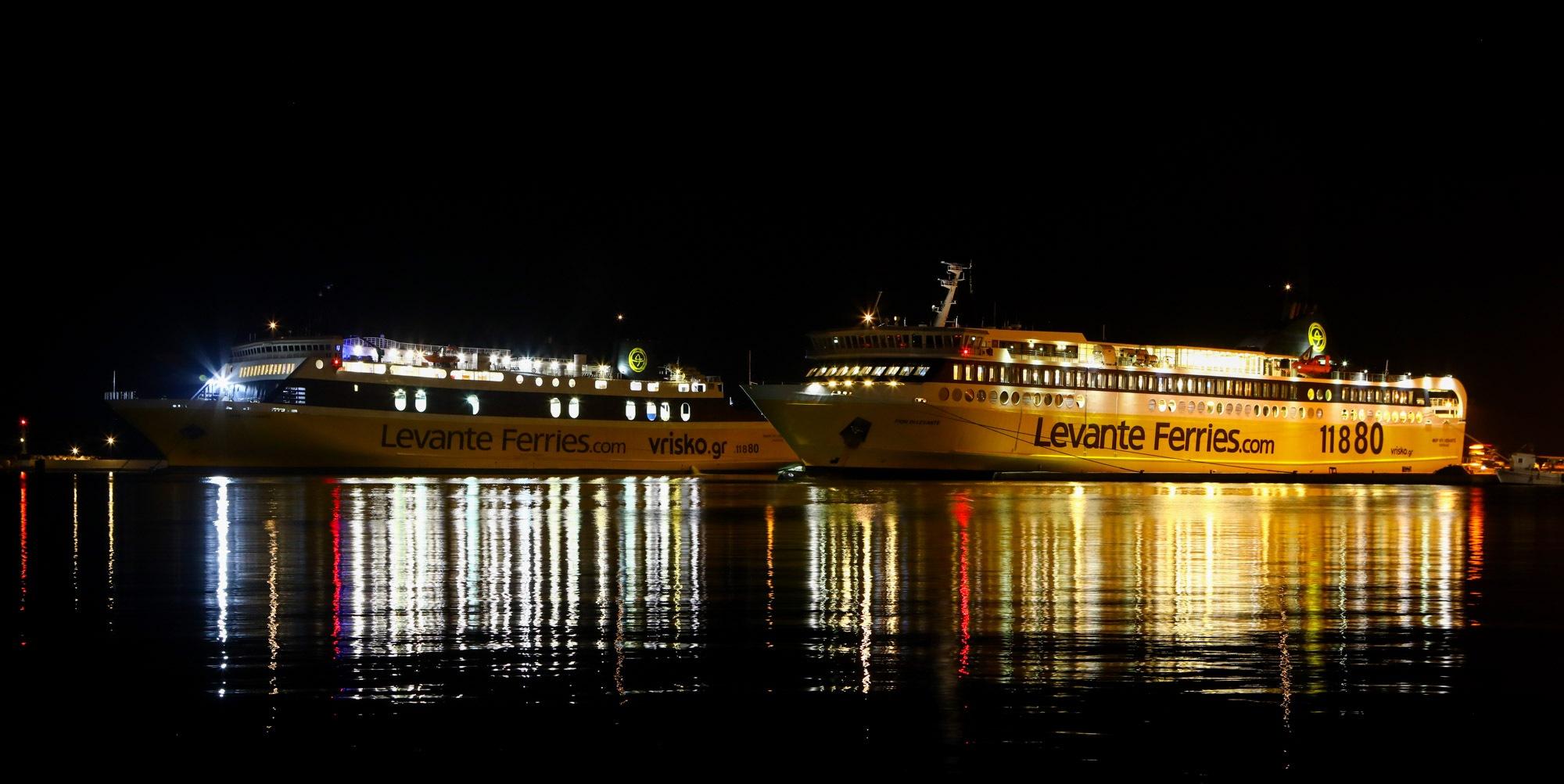 Ferries que chegam a Zakynthos a partir de Killini
