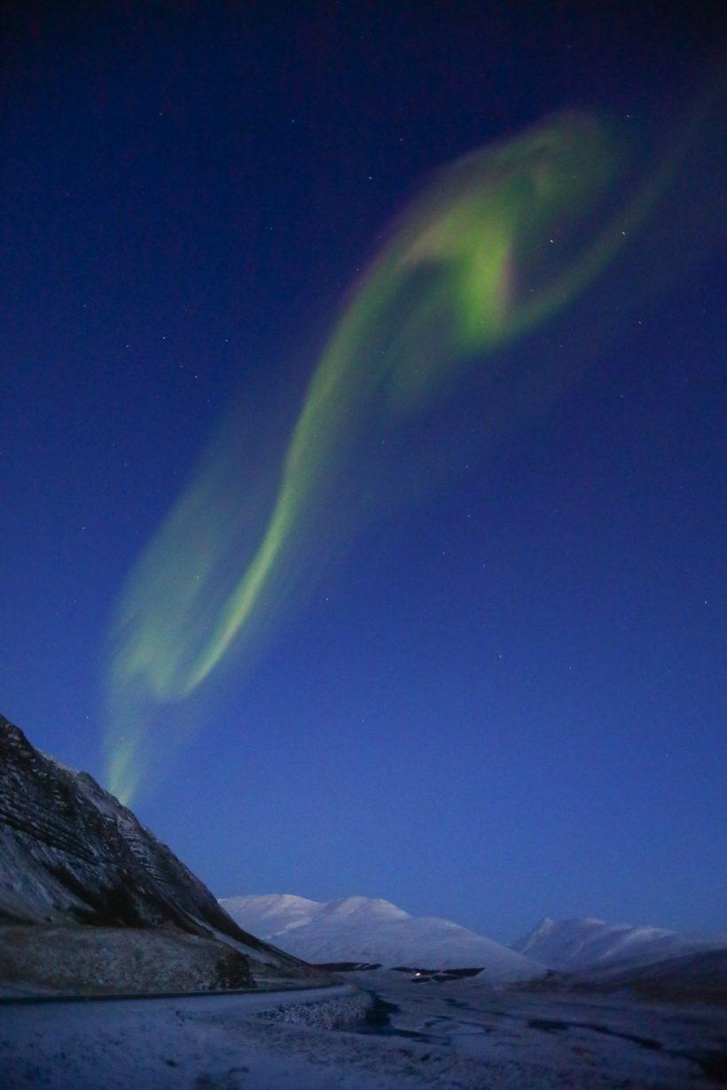 Aurora Boreal na Islandia