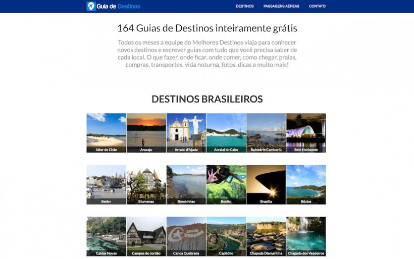guia de destinos gratis