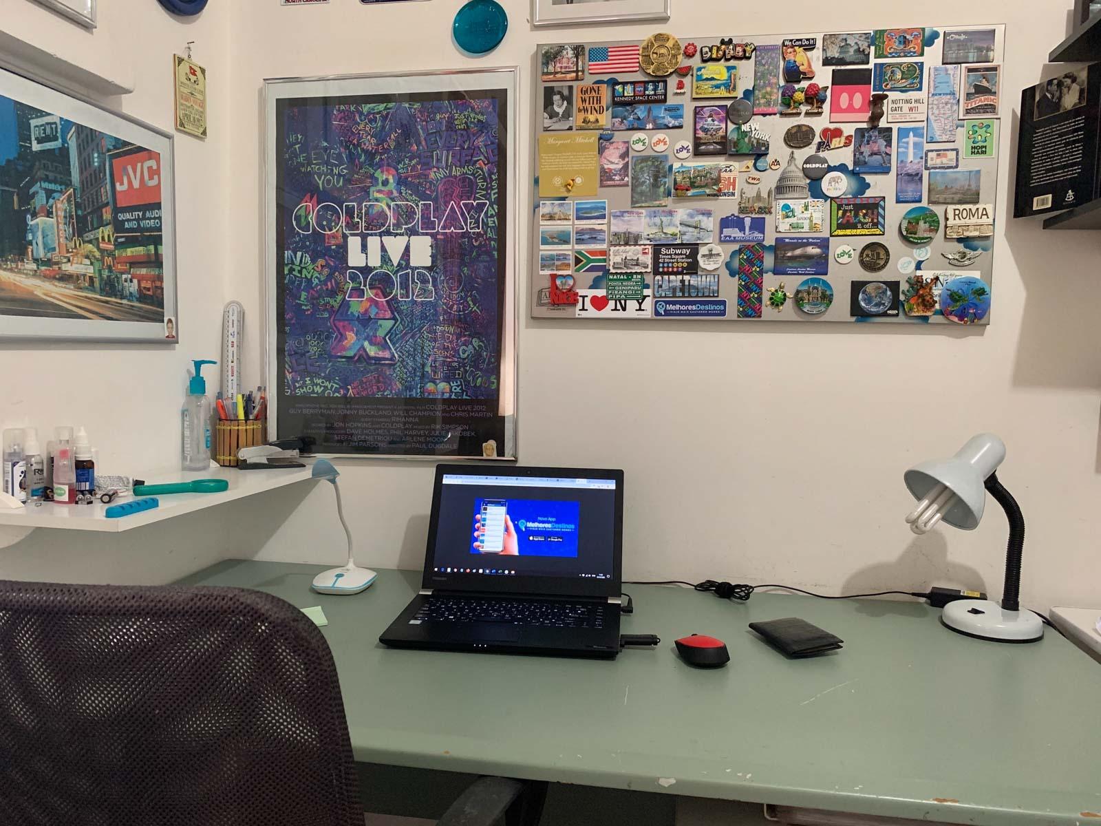 Home office do Daniel