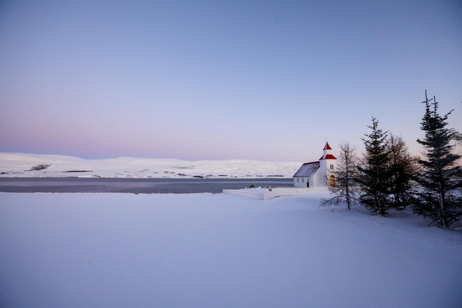 Paisagem do norte da Islândia