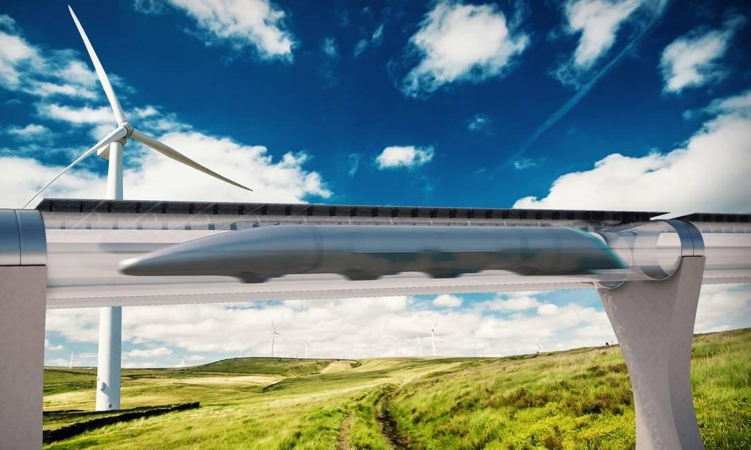 trem hyperloop