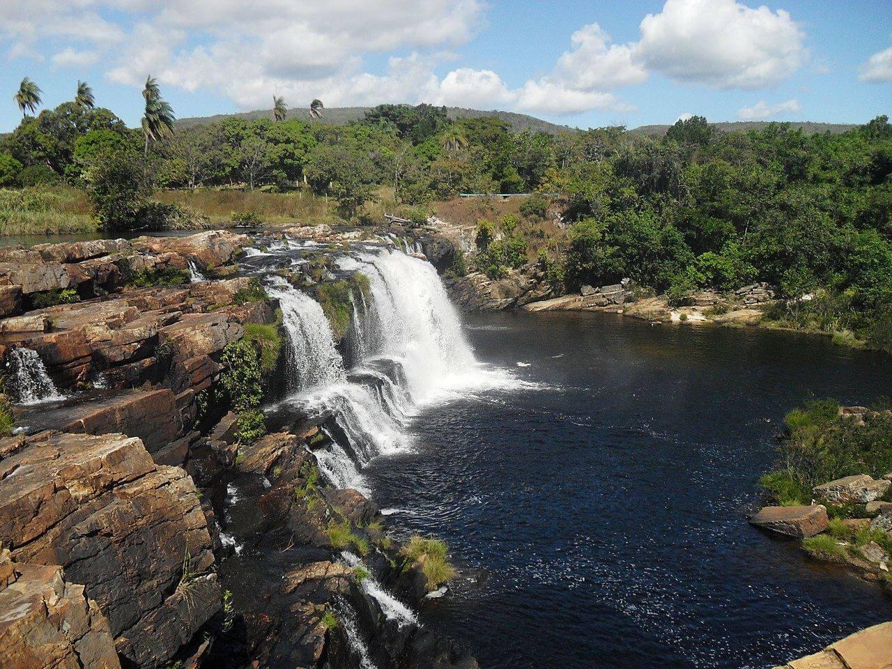 Cachoeira na Serra do Cipó (MG)