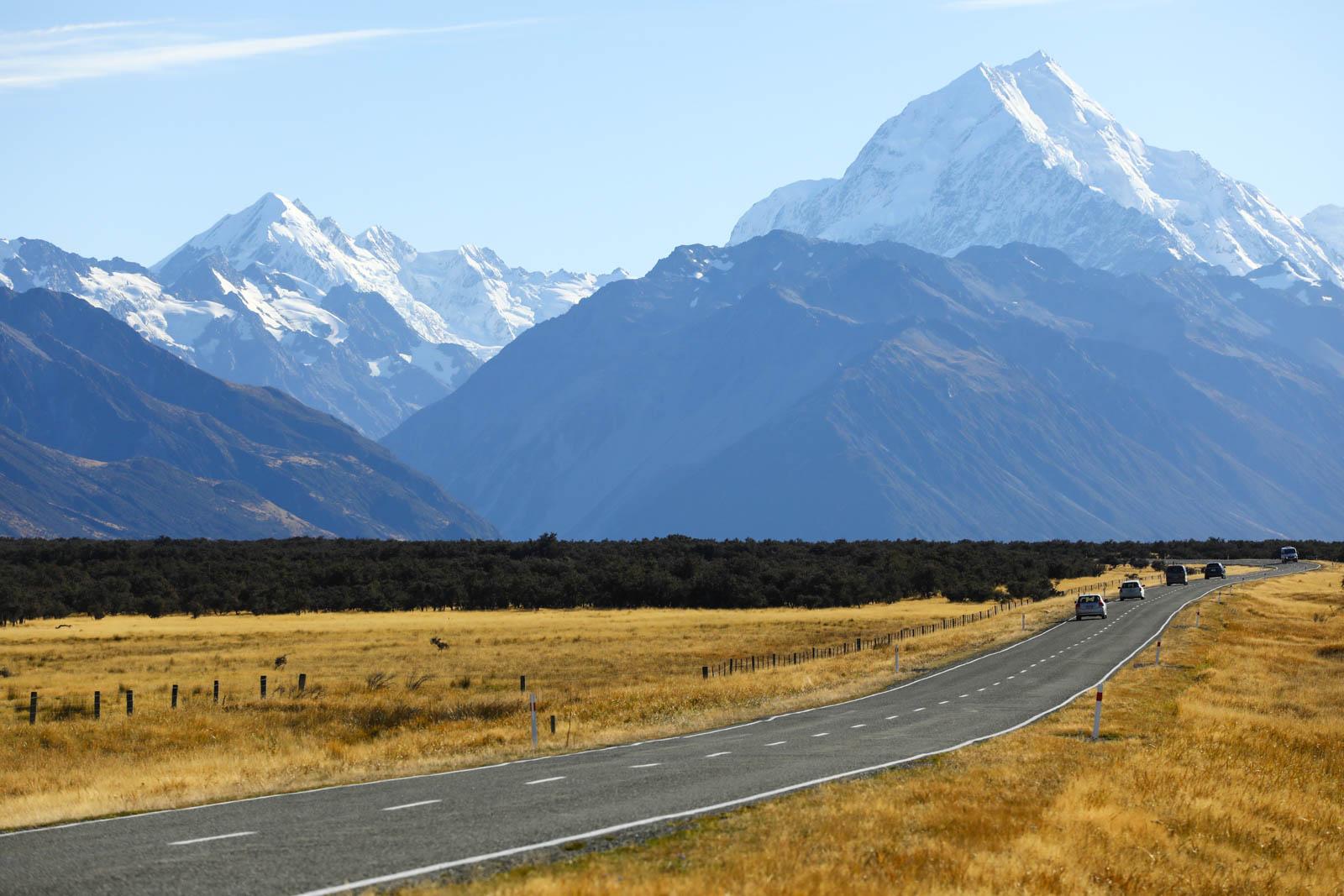 Estrada na Nova Zelândia