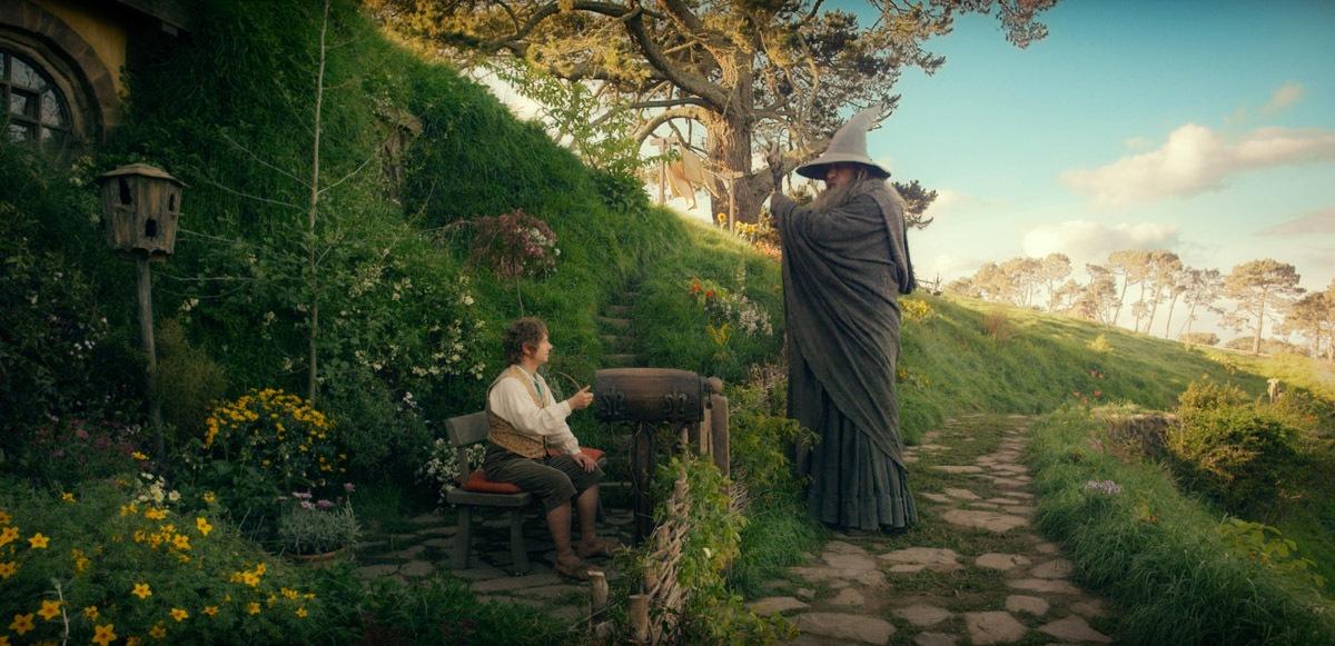 Cena em Hobbiton