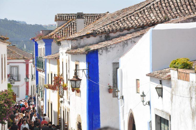 viagem a portugal óbidos