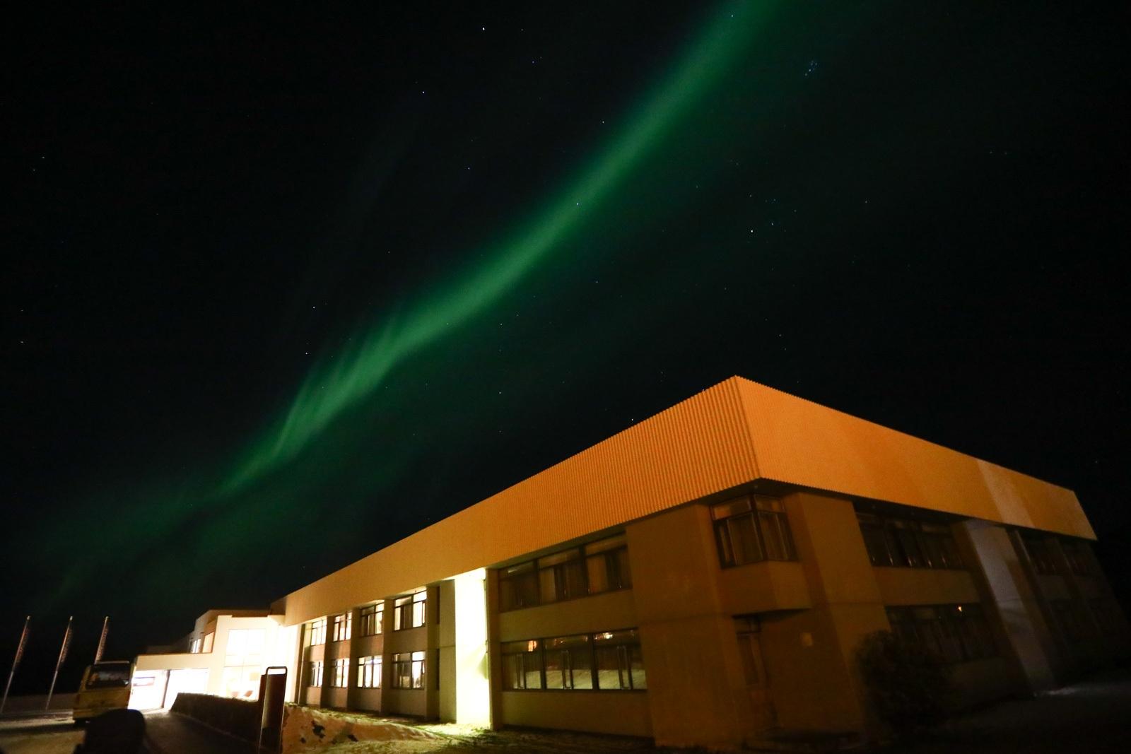 Aurora Boreal na Islândia - 24/10/2019