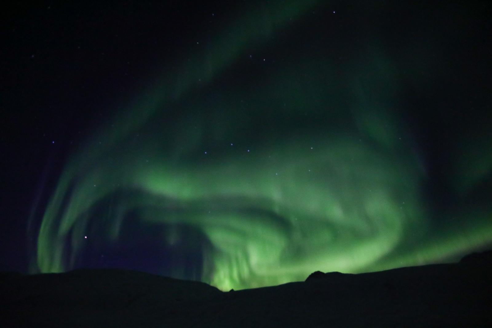 Aurora Boreal na Islândia - 26/10/2019