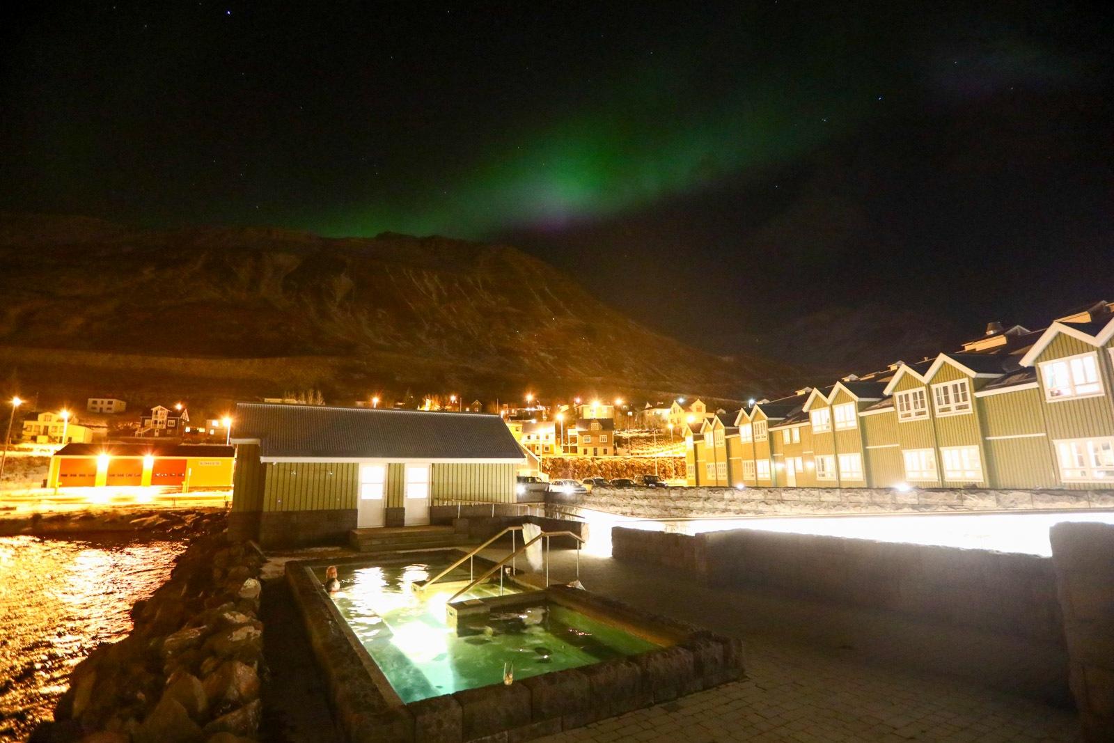 Aurora Boreal na Islândia - 28/10/2019
