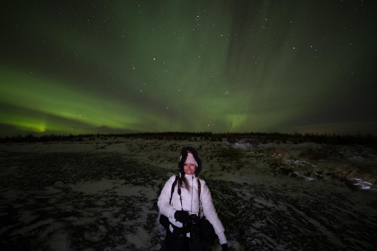 Aurora Boreal na Islândia. Foto: Marco Brotto