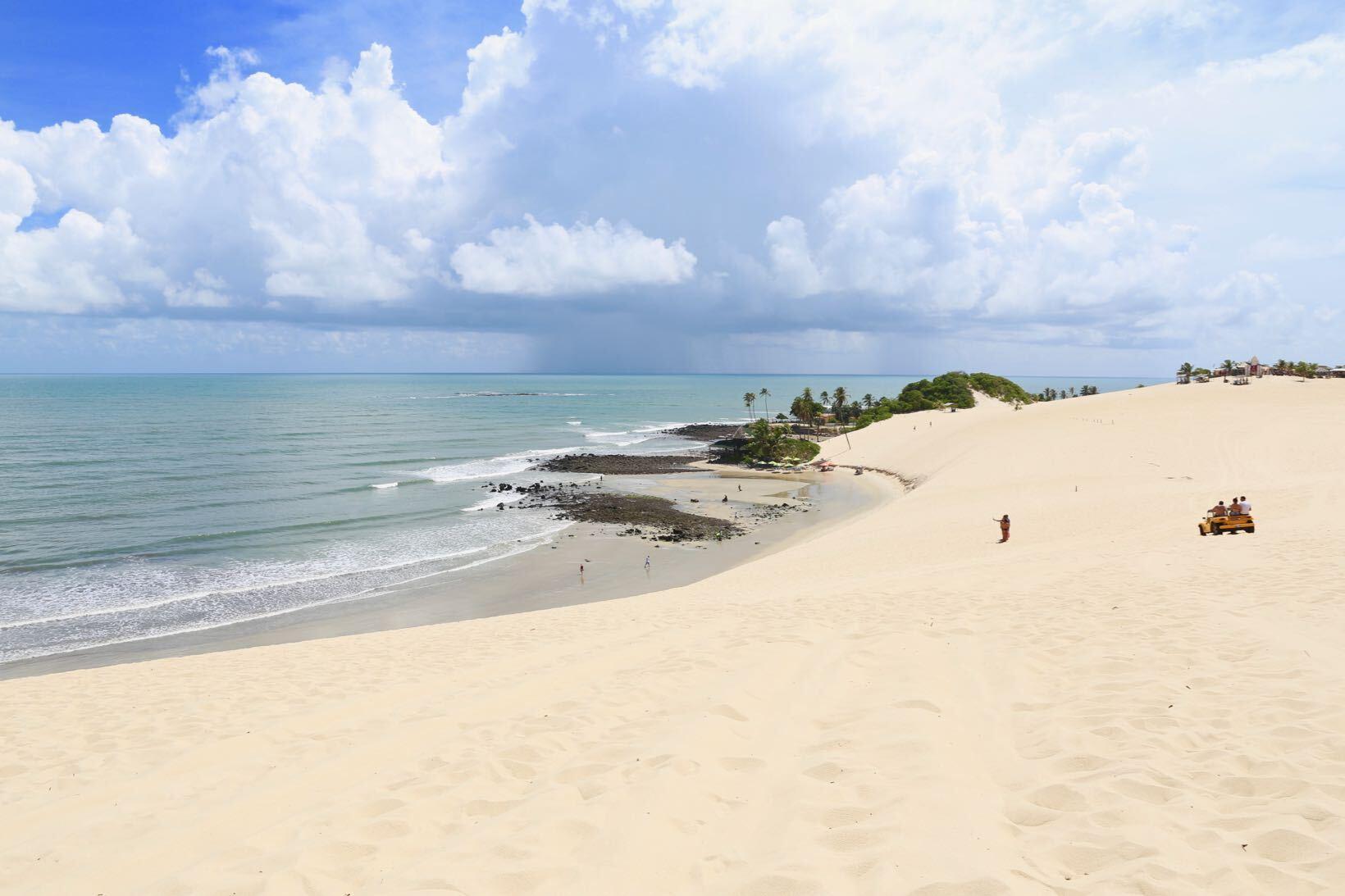 melhores praias do nordeste genipabu