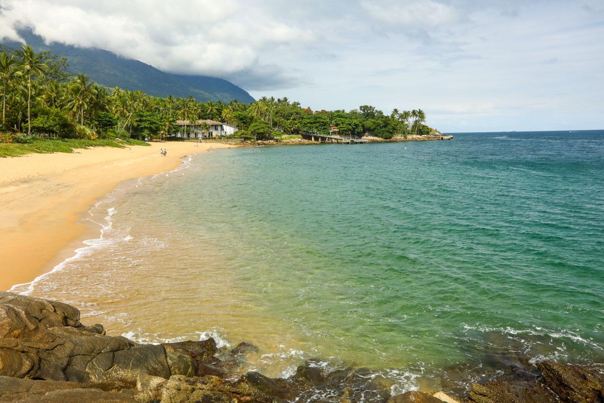 Praia da Feiticeira em Ilhabela