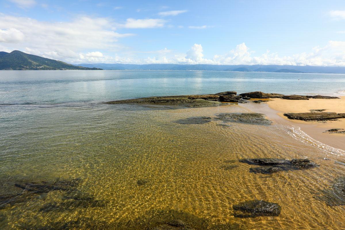 Praia do Pinto em Ilhabela