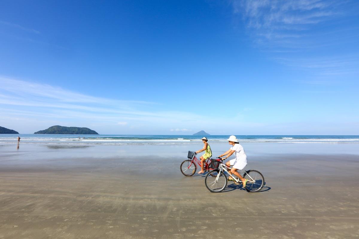 Praia de Juquehy em São Sebastião