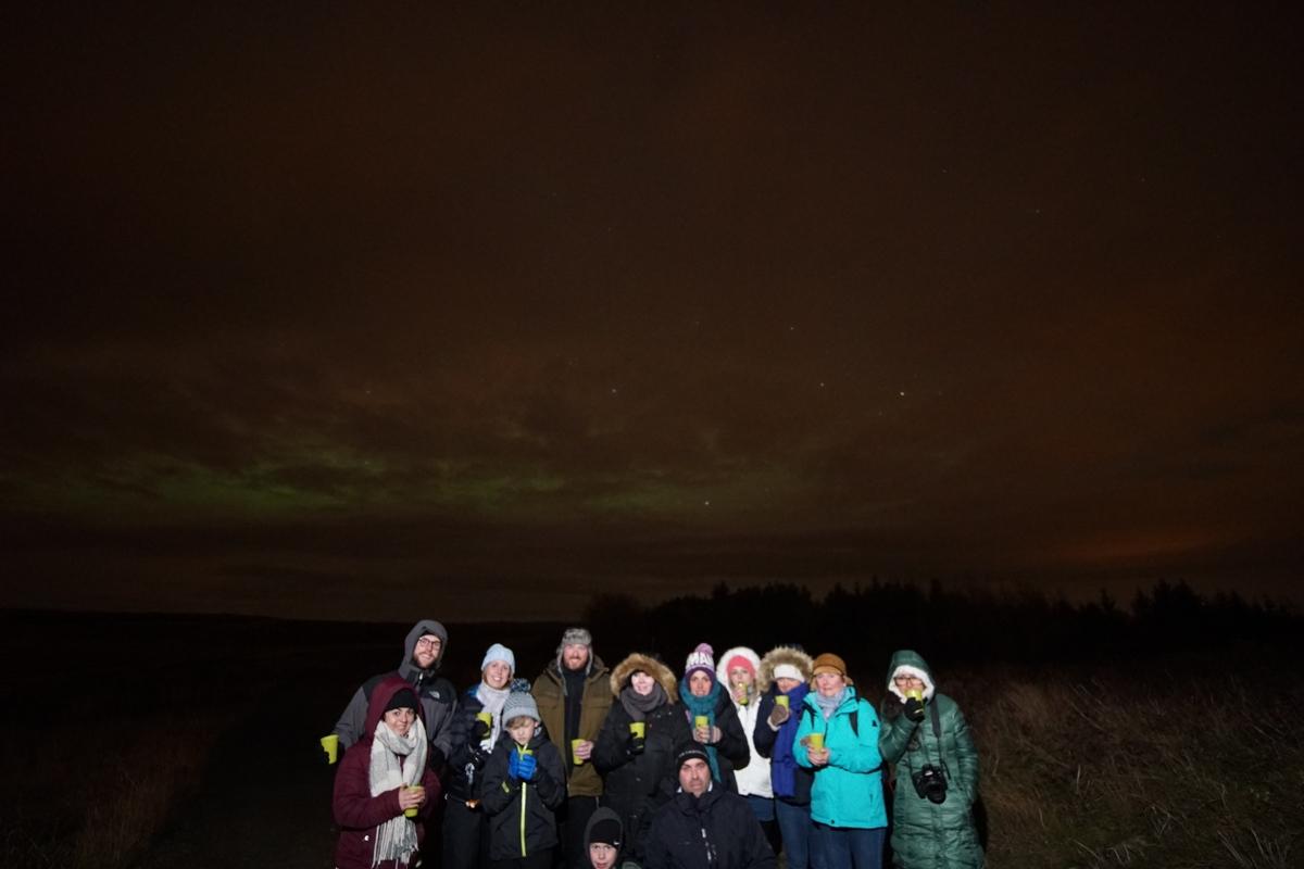 Tour Happy World para observação de Aurora Boreal em Reykjavik