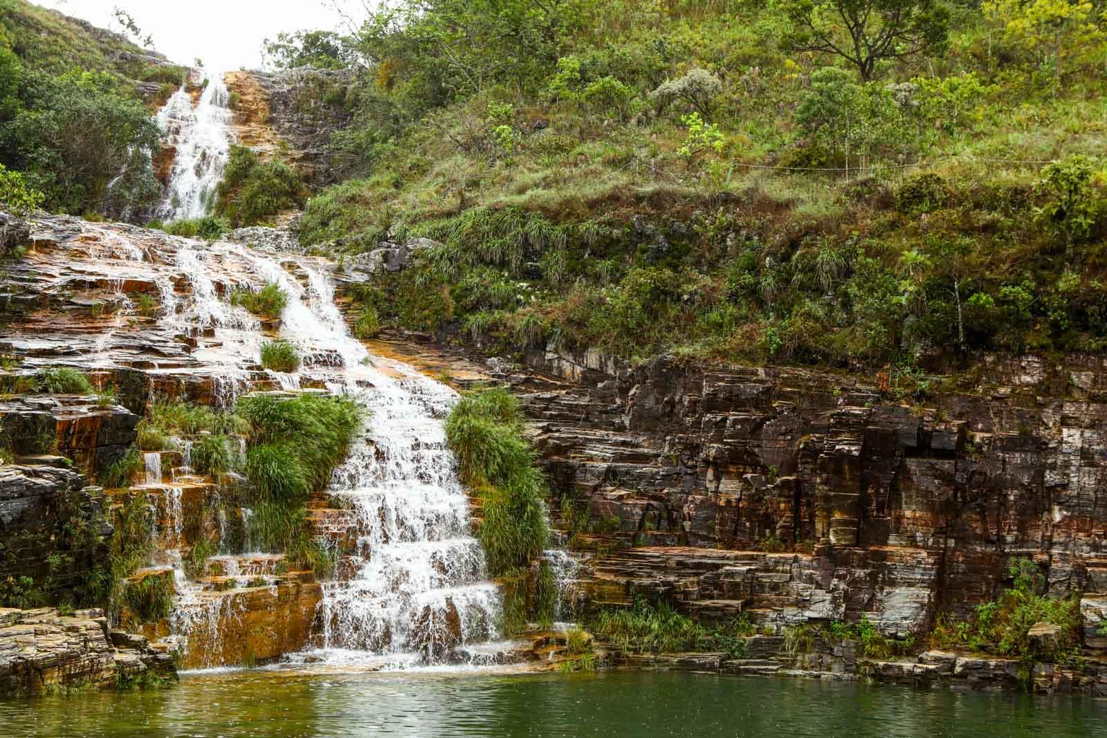 Capitólio Cachoeira Lagoa Azul