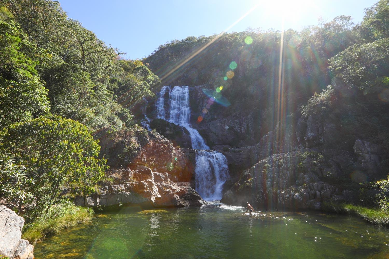 Cachoeira Candaru na Chapada dos Veadeiros