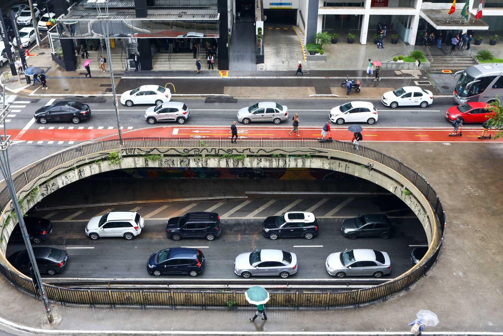 Avenida Paulista trânsito